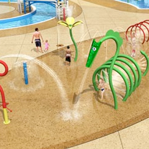 City Park Equipment Aquatic Play Pad Amp Water Park Equipment